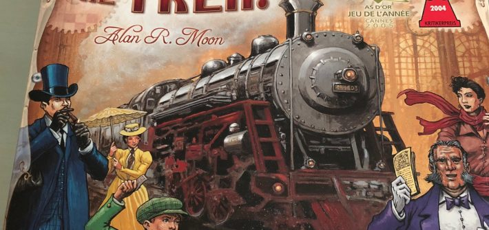 Ticket to ride USA reseña
