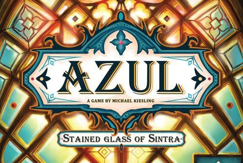 Azul: Stauned glass of Sintra