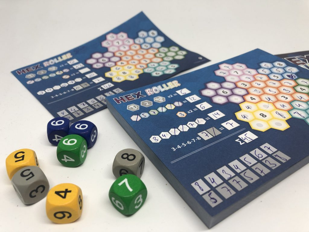 Hexroller opinion roll and write